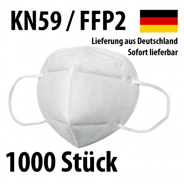 Atemschutzmasken KN95 / FFP2 - Schutzmasken Mundschutz - 1000 Stück